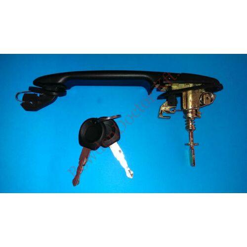 Seat Cordoba -Ibiza külső kilincs 2 ajtóshoz 2 darab kulccsal 1993-2002  (Új)